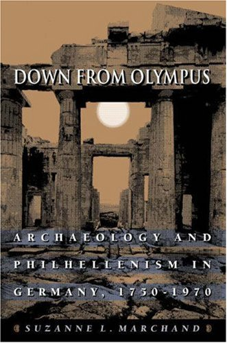Down from Olympus Archaeology and Philhellenism in Germany, 1750-1970  1996 edition cover