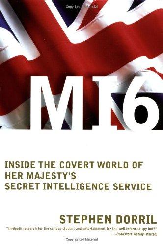 MI6 Inside the Covert World of Her Majesty's Secret Intelligence Service  2002 edition cover