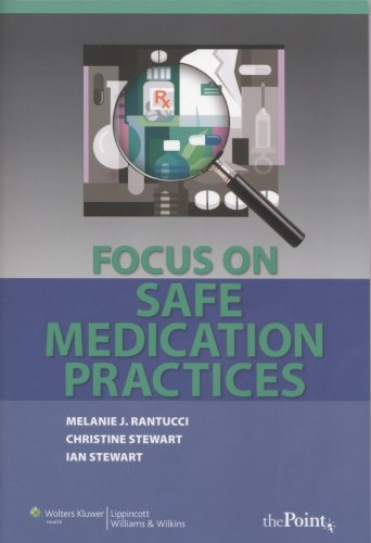 Focus on Safe Medication Practices   2009 edition cover