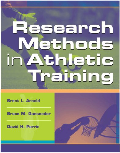 Research Methods in Athletic Training   2005 edition cover