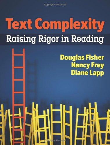 Text Complexity Raising Rigor in Reading  2012 edition cover