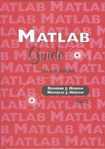 MATLAB Guide  2nd 2005 (Revised) edition cover