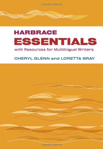 Harbrace Essentials with Resources for Multilingual Writers   2013 edition cover