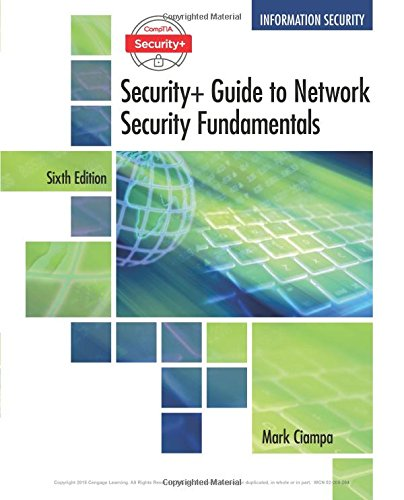 Comptia Security+ Guide to Network Security Fundamentals:   2017 9781337288781 Front Cover