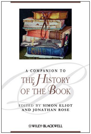 Companion to the History of the Book   2009 edition cover