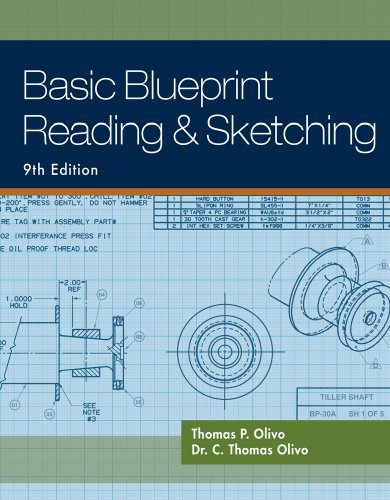 Basic Blueprint Reading and Sketching  9th 2010 edition cover