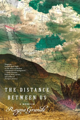 Distance Between Us A Memoir  2012 9781451661781 Front Cover