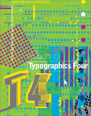 Typographics  4th 2001 9780060937782 Front Cover