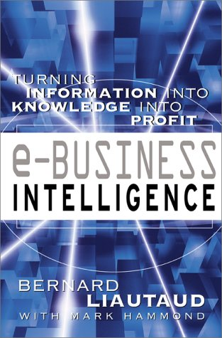 E-Business Intelligence Turning Information into Knowledge into Profit  2001 9780071364782 Front Cover