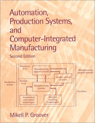 Automation, Production Systems, and Computer-Integrated Manufacturing  2nd 2001 edition cover