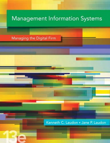 Management Information Systems  13th 2014 edition cover