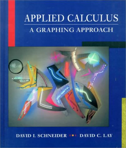 Applied Calculus A Graphing Approach  1997 9780133424782 Front Cover