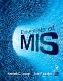 2014 MyMISLab with Pearson EText -- Access Card -- for Essentials of MIS  11th 2015 edition cover