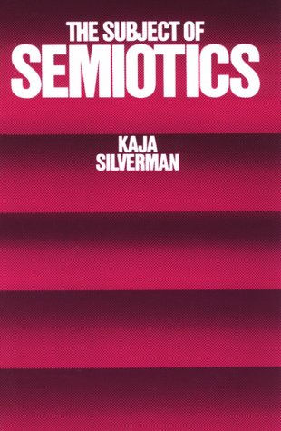 Subject of Semiotics  N/A edition cover