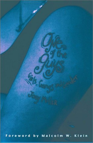 One of the Guys Girls, Gangs, and Gender  2001 edition cover