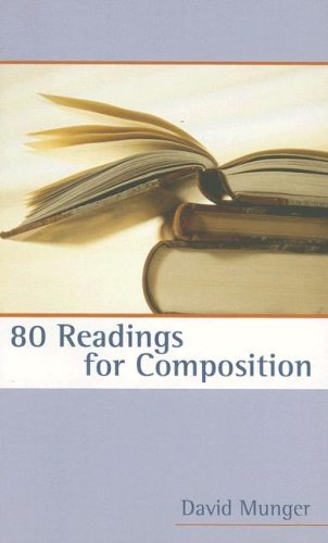 80 Readings for Composition  2nd 2006 edition cover