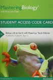 MasteringBiology with Pearson EText -- Standalone Access Card -- for Biology Life on Earth with Physiology 10th 2014 edition cover