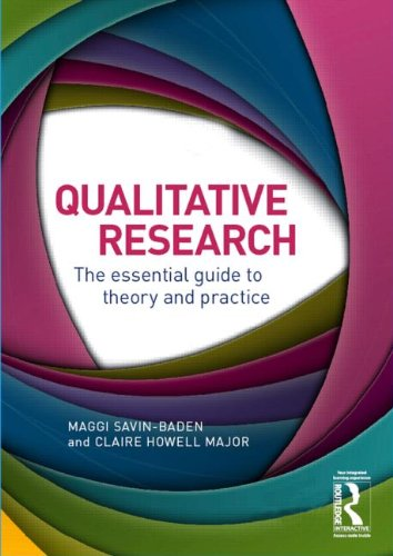 Practical Introduction to Qualitative Research Methodology Matters  2013 edition cover