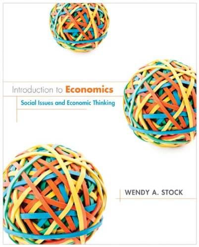 Introduction to Economics Social Issues and Economic Thinking  2013 edition cover