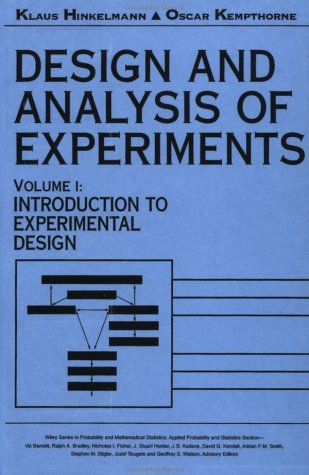 Design and Analysis of Experiments Introduction to Experimental Design  1994 9780471551782 Front Cover