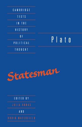 Plato The Statesman  1995 edition cover