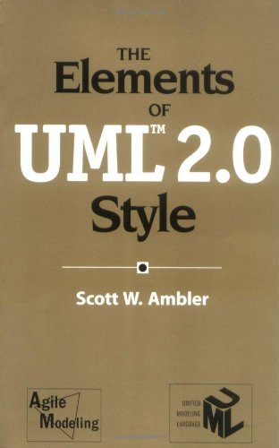 Elements of UML 2. 0 Style   2005 edition cover