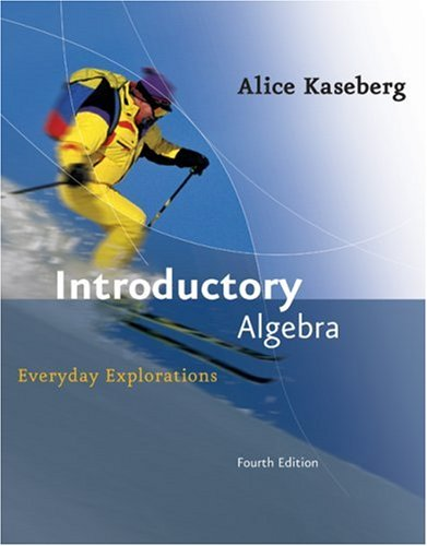 Introductory Algebra 4e  4th 2008 9780618918782 Front Cover