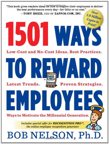 1501 Ways to Reward Employees  3rd 2012 edition cover