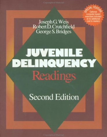 Juvenile Delinquency Readings 2nd 2001 (Revised) 9780761986782 Front Cover