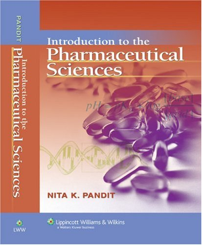 Introduction to the Pharmaceutical Sciences   2007 edition cover