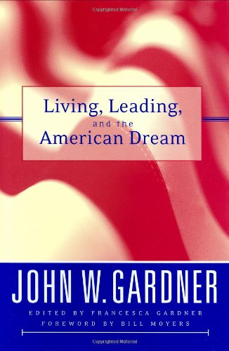 Living, Leading, and the American Dream   2003 edition cover