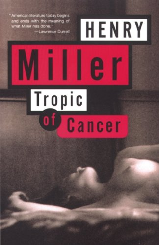 Tropic of Cancer   1961 edition cover