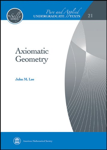 Axiomatic Geometry   2013 edition cover