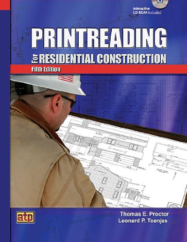 Printreading for Residential Construction  5th 2009 edition cover