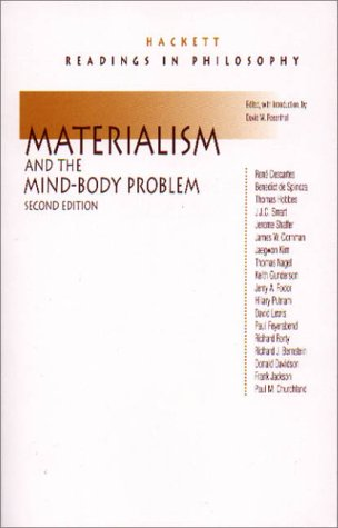 Materialism and the Mind-Body Problem  2nd 2000 (Revised) edition cover