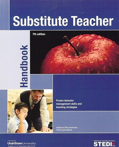 Substitute Teacher Handbook  7th 9780982165782 Front Cover