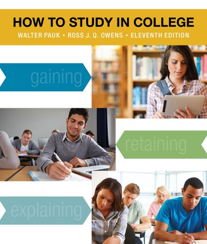 How to Study in College  11th 2014 edition cover