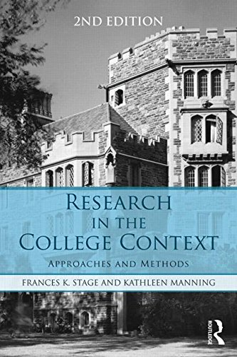 Research in the College Context Approaches and Methods 2nd 2016 (Revised) edition cover