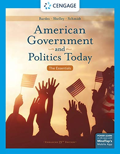 American Government and Politics Today:   2019 9781337799782 Front Cover