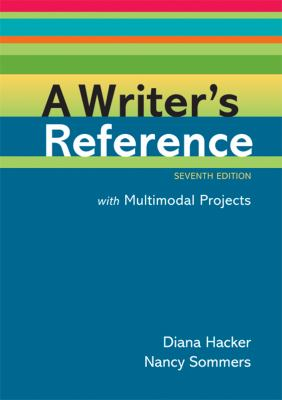 Writer's Reference for Multimodal Projects  7th edition cover