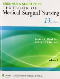 Textbook of Medical-Surgical Nursing  13th edition cover