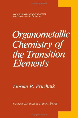 Organometallic Chemistry of the Transition Elements   1990 9781489920782 Front Cover