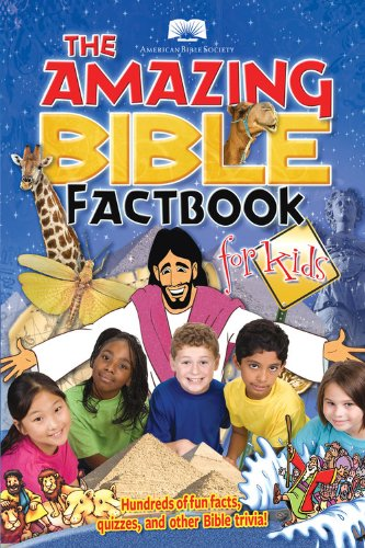 Amazing Bible Factbook for Kids   2008 edition cover