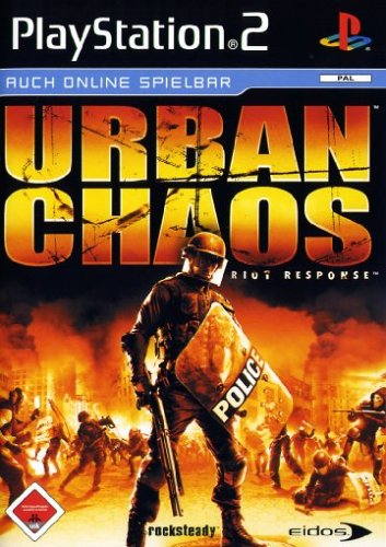 Urban Chaos: Riot Response PlayStation2 artwork