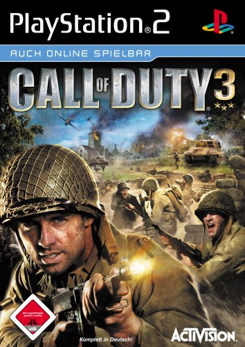Call of Duty 3 PlayStation2 artwork