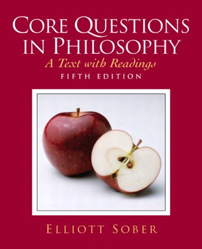 Core Questions in Philosophy A Text with Readings 5th 2009 edition cover