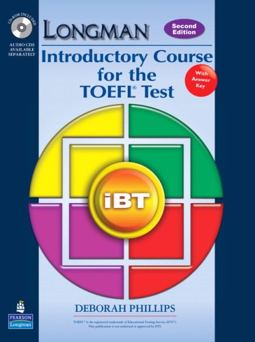 Introductory Course for the TOEFL Test iBT 2nd 2009 edition cover