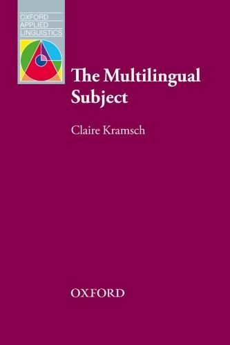 Multilingual Subject   2009 9780194424783 Front Cover