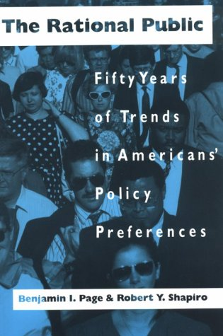 Rational Public Fifty Years of Trends in Americans' Policy Preferences  1992 edition cover