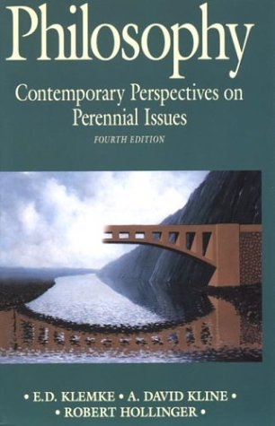 Philosophy Contemporary Perspectives on Perennial Issues 4th 1994 edition cover